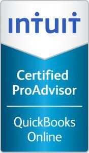 Certified QuickBooks Online ProAdvisor logo